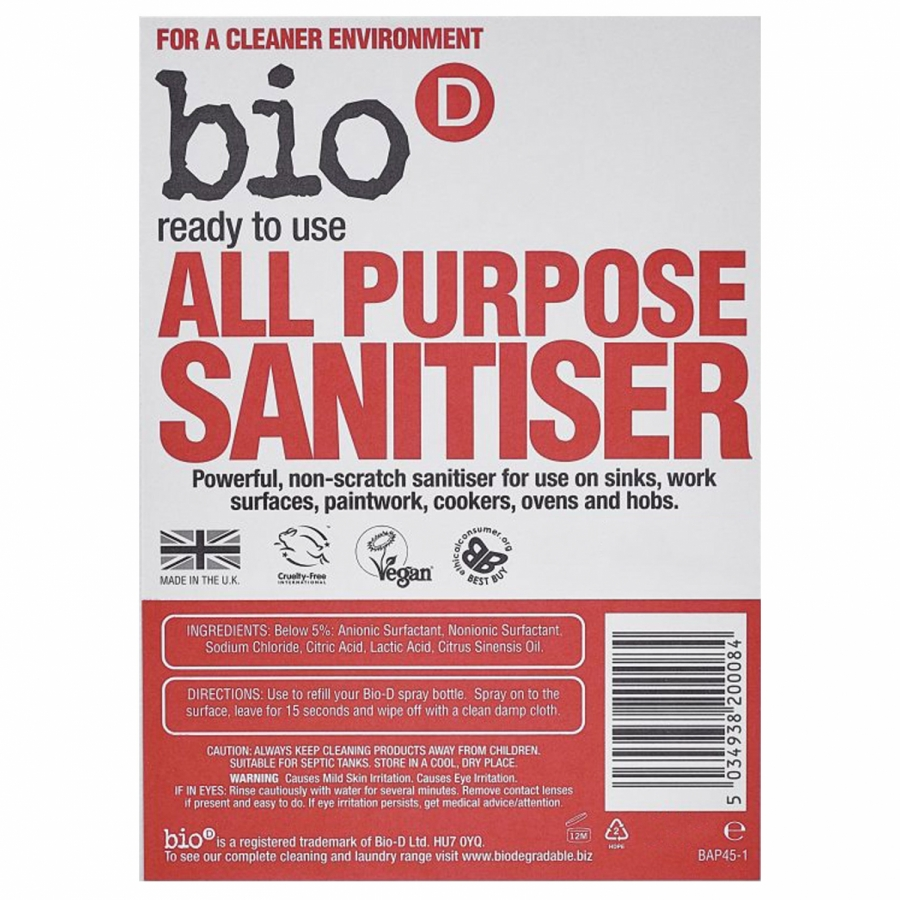 All Purpose Sanitiser - Refill