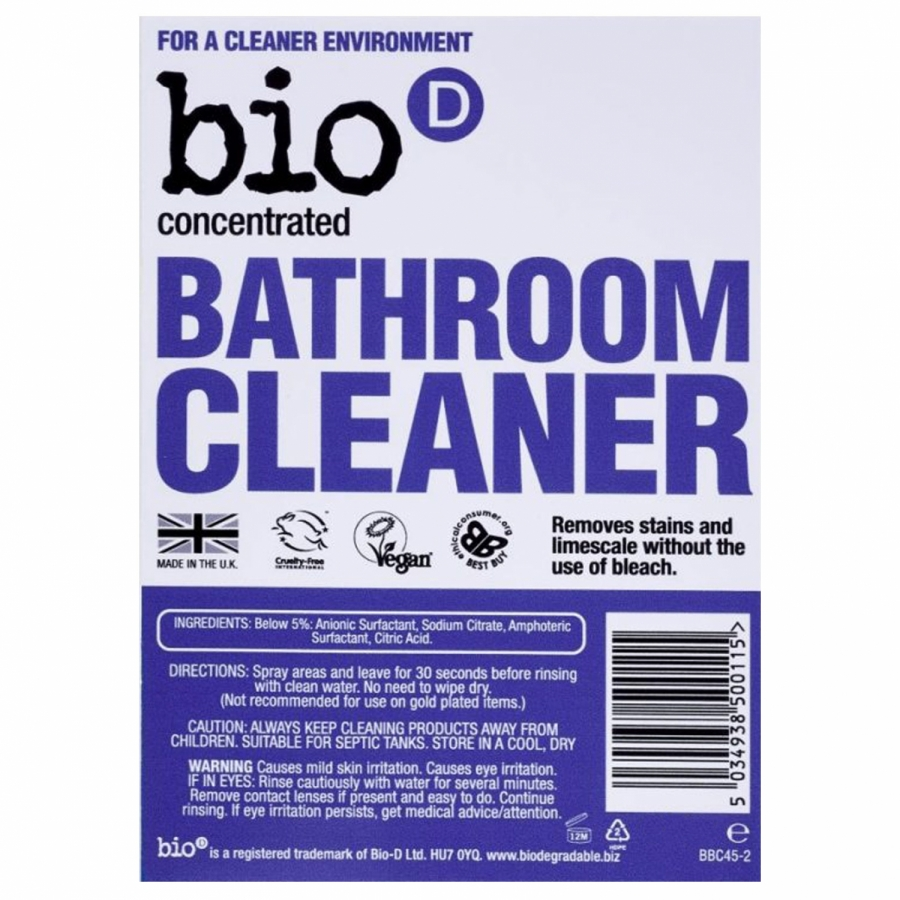 Bathroom Cleaner - Refill