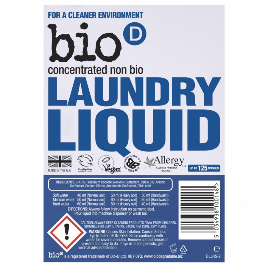 Laundry Liquid Fragrance Free - Refill